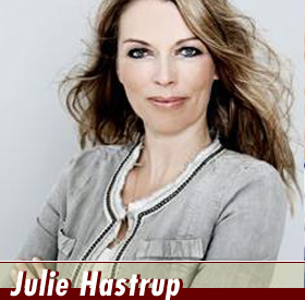 Die Autorin Julie Hastrup